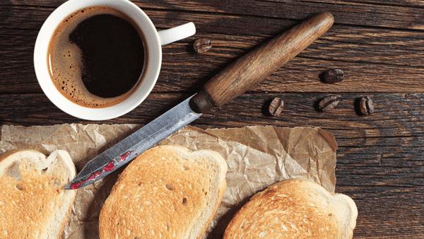 Café y tostadas